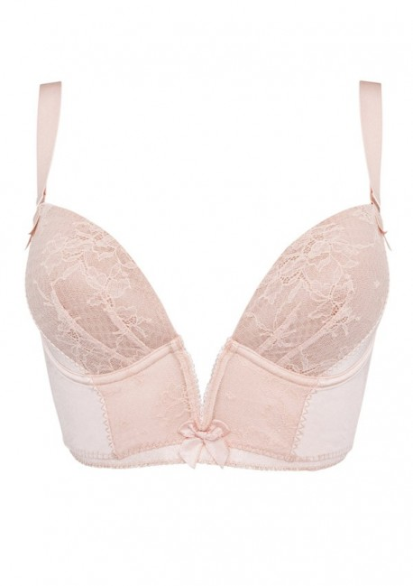 Soutien-gorge bustier blush Retrolution - Gossard