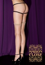 Retro authentic nylon stockings Les Coquetteries Maison Close