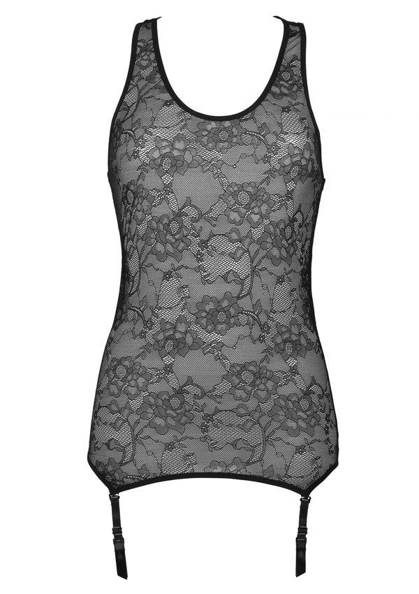 Lys tank top with suspenders Villa des Lys - Maison Close
