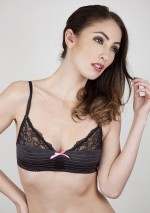 Bralette with topstitches Neon Eve Playful Promises