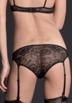 Lys panty with suspenders Villa des Lys Maison Close