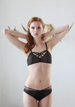 Soutien-gorge brassière double x noir Flash You And Me