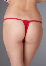 String ouvert rouge Le Petit Secret Maison Close