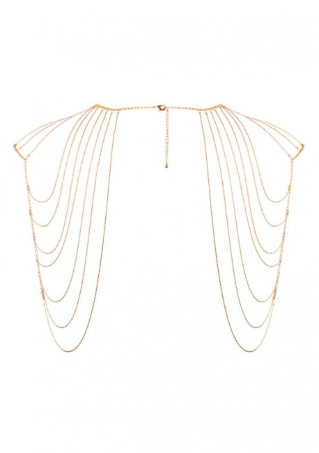 Metallic shoulder and back chain Magnifique Bijoux Indiscrets