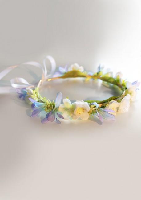 Couronne de fleurs printanières - Sa Majesté
