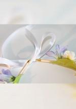 Couronne de fleurs printanièresSa Majesté