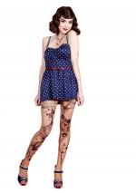 Collant Tattoo CircusFantaisieMirey