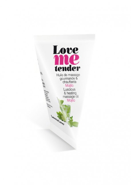 Love Me Tender mojito massage oil in cartons Love me tender - Love to Love