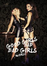 Jupe Bad Captain Good girls bad, bad girls worse Noir Handmade