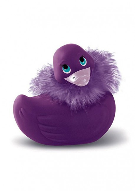 Purple Paris duckie I Rub My Duckie - Big Teaze Toys