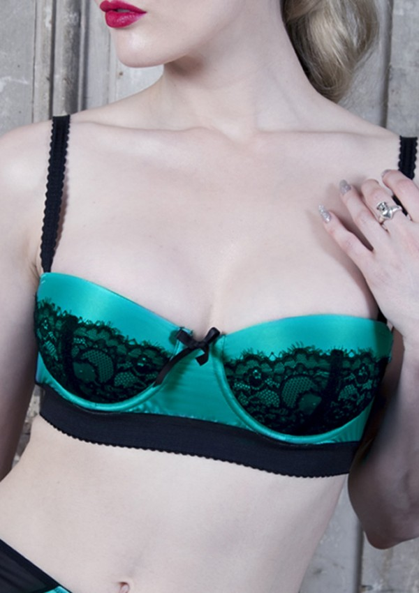 Soutien-gorge push up sarcelle Paradise - Playful Promises