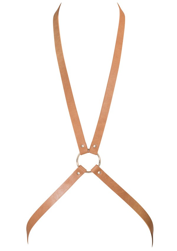 Brown 8 harness Maze - Bijoux Indiscrets