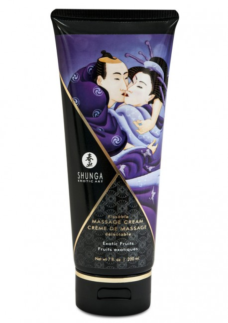 Exotic fruit delectable massage cream - Shunga