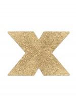 Golden cross glitter nipple coversFlashBijoux Indiscrets