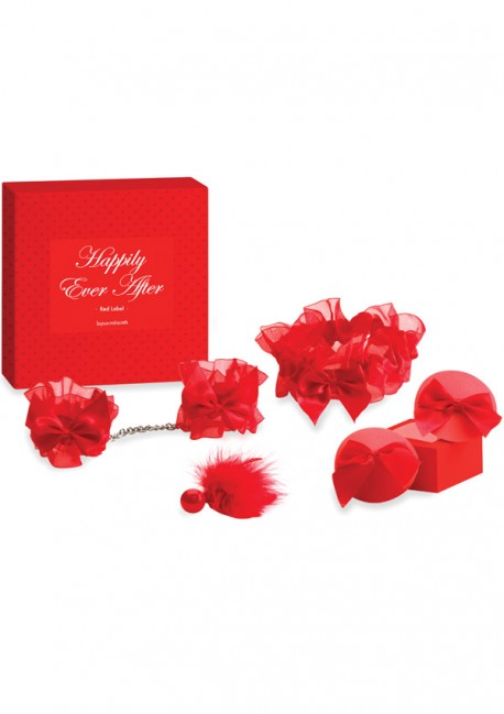 Happily Ever After Valentine's Day box Red label - Bijoux Indiscrets