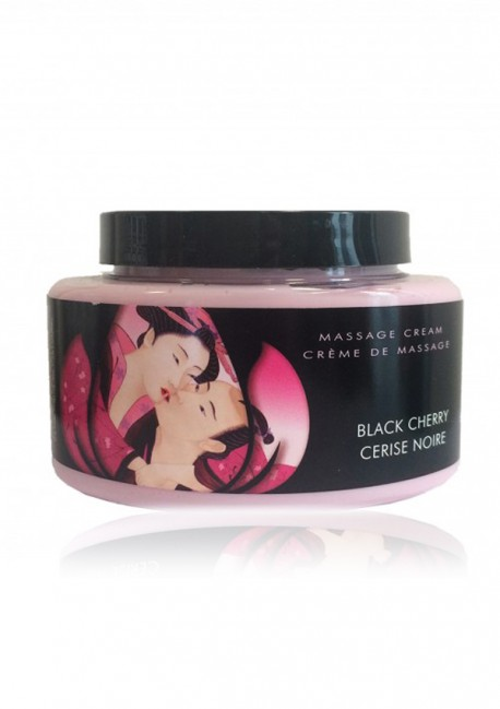 Black cherry massage cream - Shunga