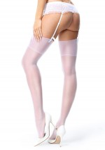 White silky stockings Miss O