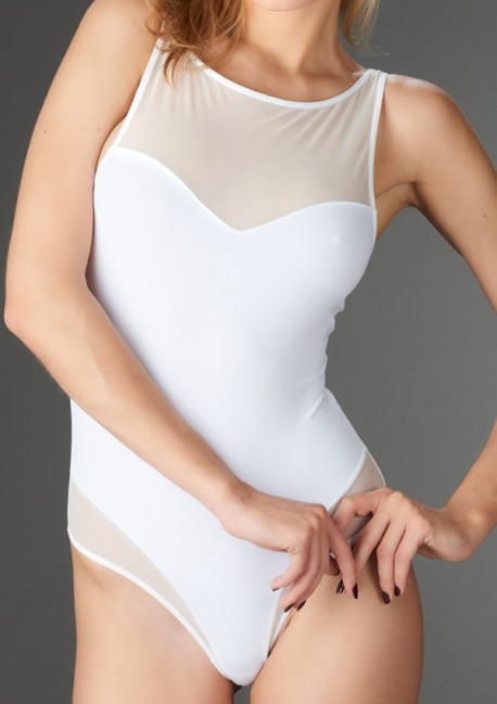 Tentation white thong body Pure Tentation - Maison Close