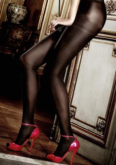 Black semi-opaque tights Les basiques Baci