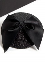 Black pasties with bows Bijoux Indiscrets