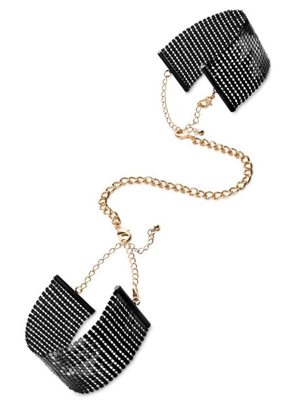 Désir metallic mesh handcuffs Désir métallique - Bijoux Indiscrets