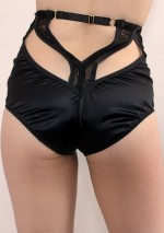 Culotte taille haute judas noireAnnabelSomething Wicked