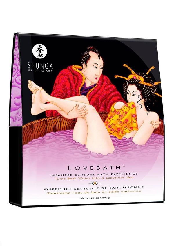 Gel de bain japonais - Shunga