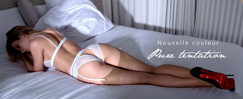 Nouvelle couleur: découvrez la collection Maison Close Pure tentation en blanc